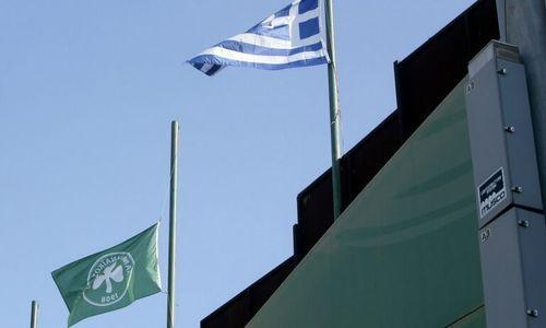 Παναθηναϊκό μεγαλείο - Ο Αντώνης Βρεττός υψώνει στη Λεωφόρο την ελληνική σημαία για πρώτη φορά μέσα στην Κατοχή - πράσινος τύπος